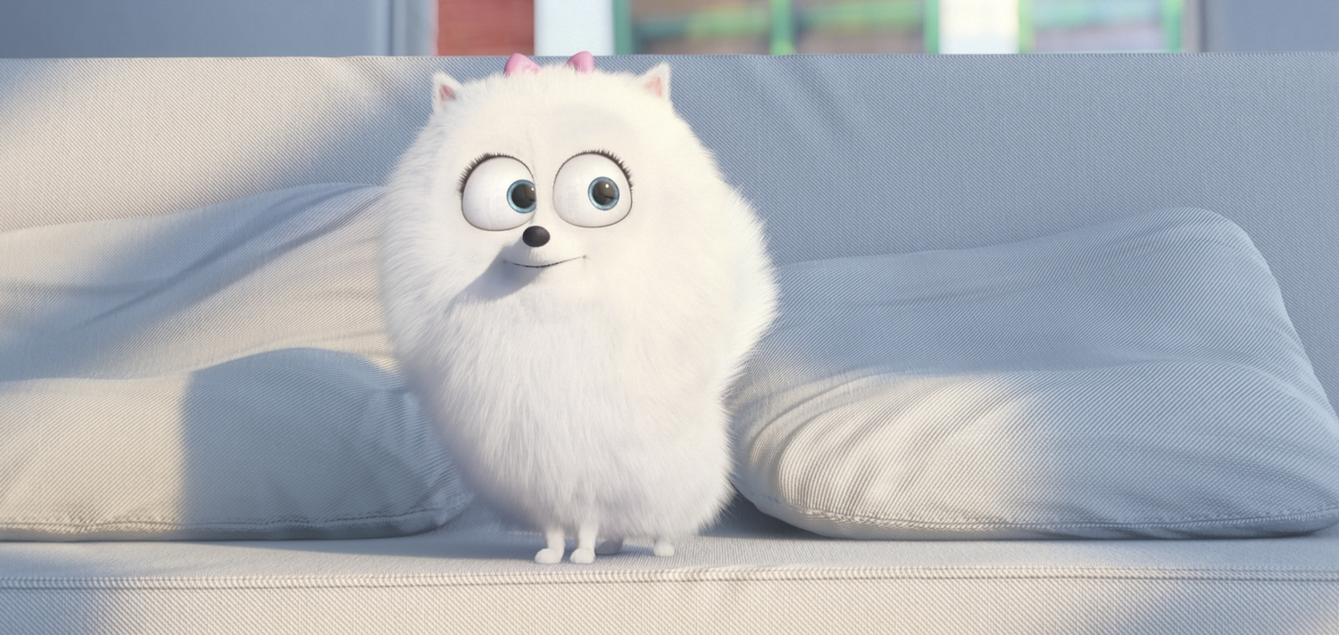 """Gidget (JENNY SLATE) is a naïve-but-gutsy Pomeranian in Illumination Entertainment and Universal Pictures' """"The Secret Life of Pets,"""" a comedy about the lives our pets lead after we leave for work or school each day."""