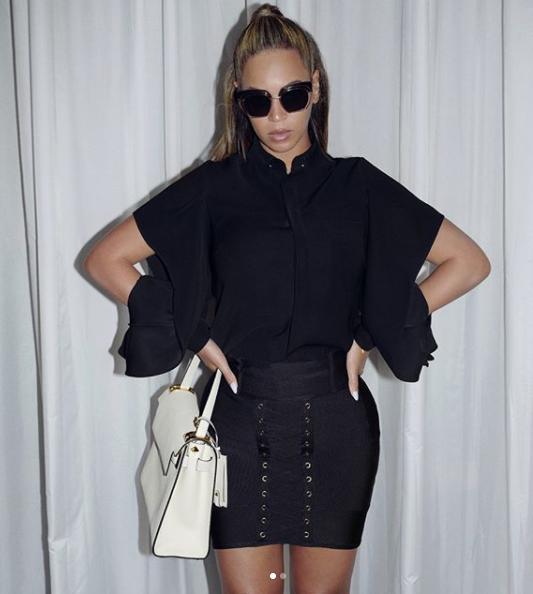 The little black skirt -