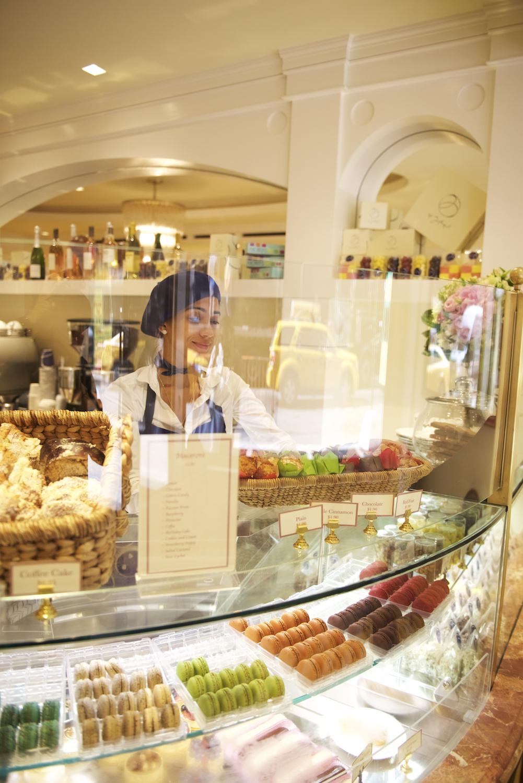 Café Bilboquet, a café ready to sell New Yorkers a France-like experience... -