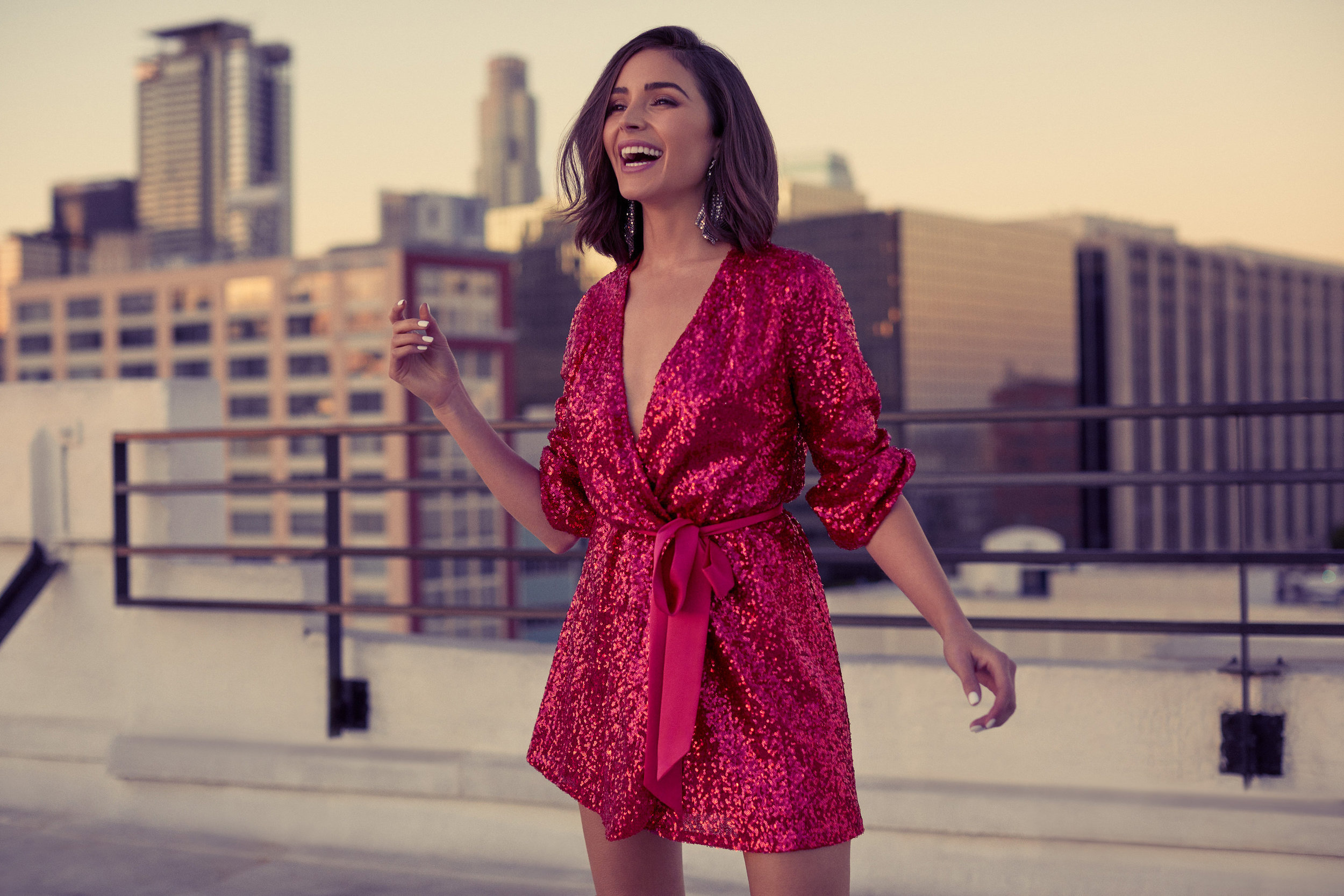 Available in 300 stores and online at Express.com/OliviaCulpo -