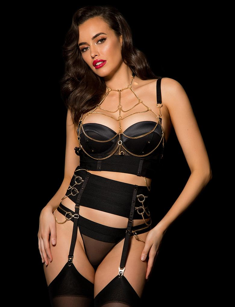 - Each piece is finished with the utmost attention to detail, whether in its bespoke rose gold and gunmetal hardware, custom trim embroidery, intricate paneling, luxe lacquer floral lace or form-flattering silhouettes.Honey Birdette's #NOTYOURVALENTINE collection launches on the 10 January 2019 and will be available exclusively at Honey Birdette Boutiques in Australia, the UK, and the USA, as well as via their online boutique.WEBSITE / INSTAGRAM