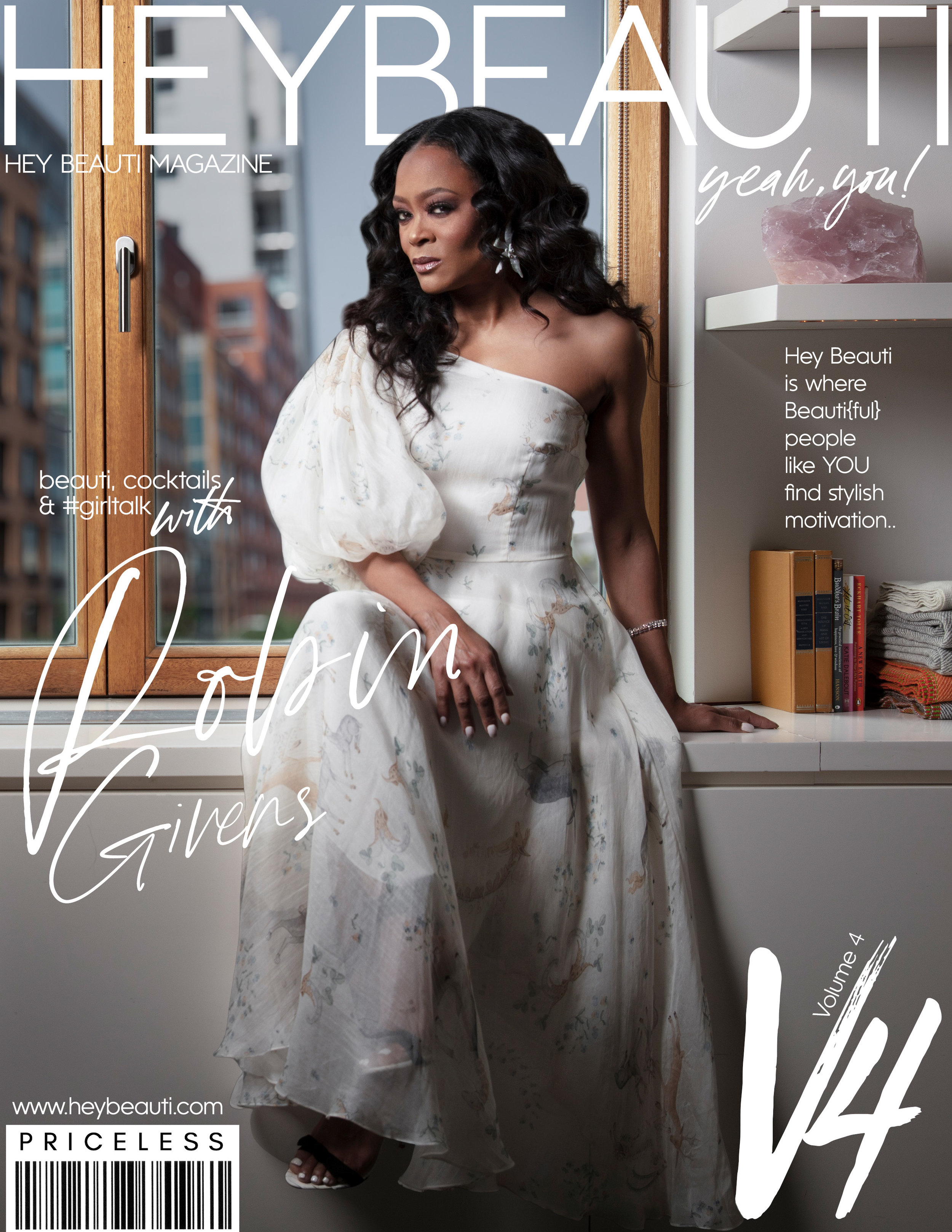 Introducing my latest Hey Beauti Magazine Cover Girl, actress Robin Givens - Hey Beauti is where Beauti{ful} people like YOU find stylish motivation.