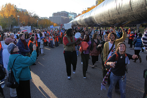 Tar Sands Action in Washington, DC