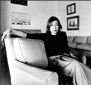 Joan Didion when she was young.