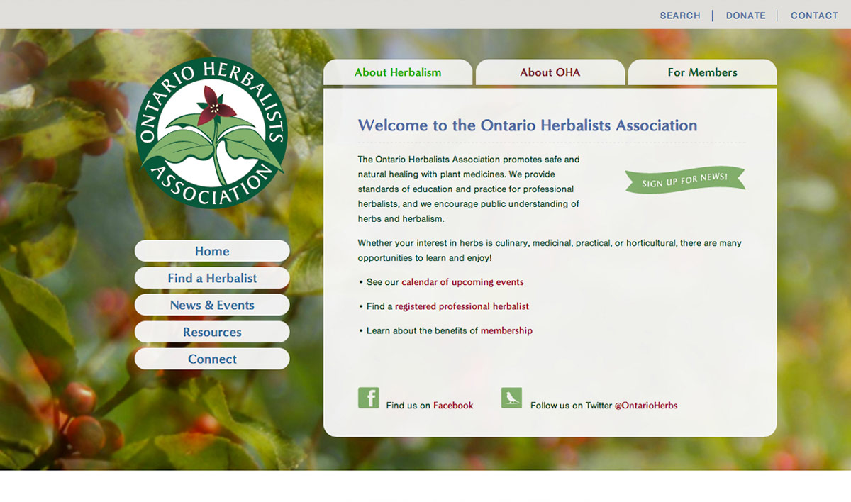Ontario Herbalists Association