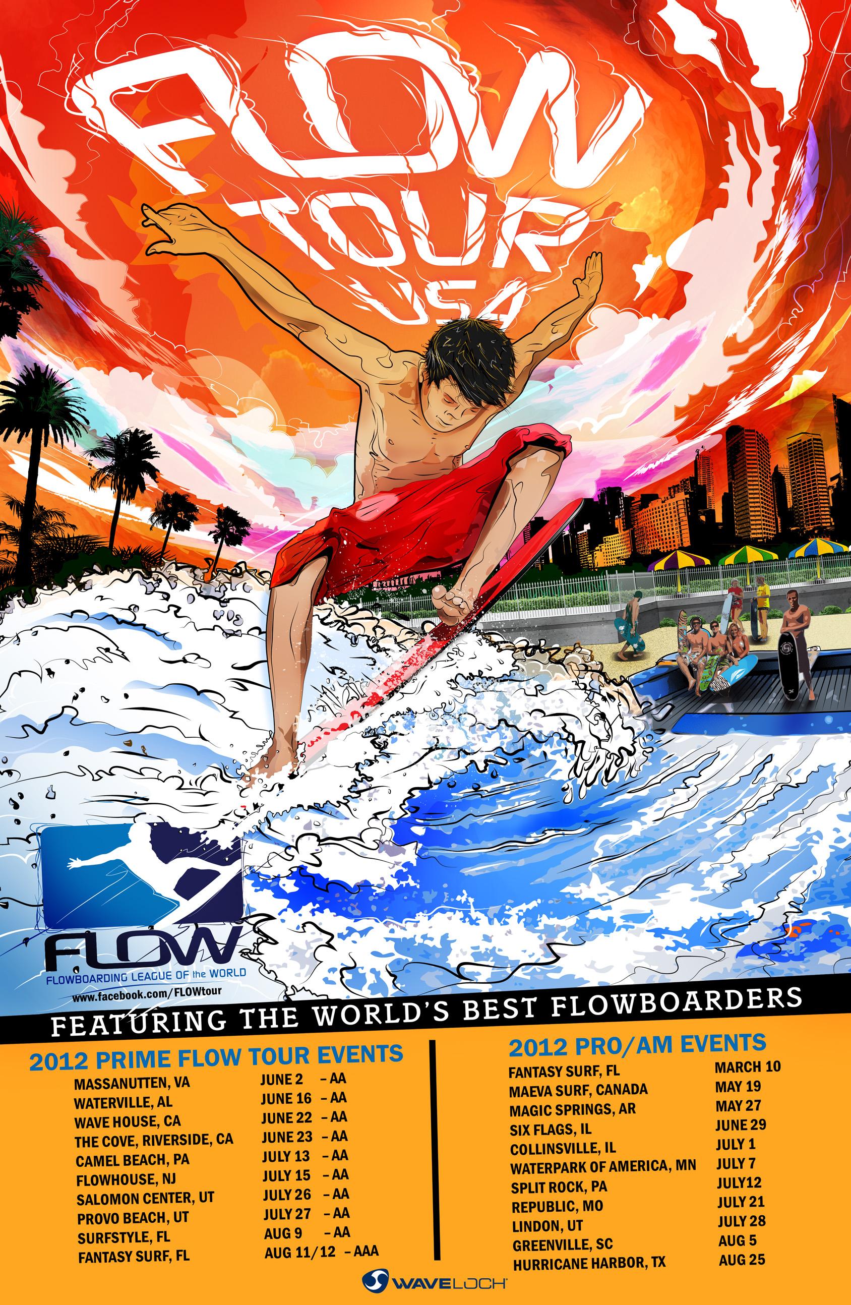 WaveLoch US Flow Tour