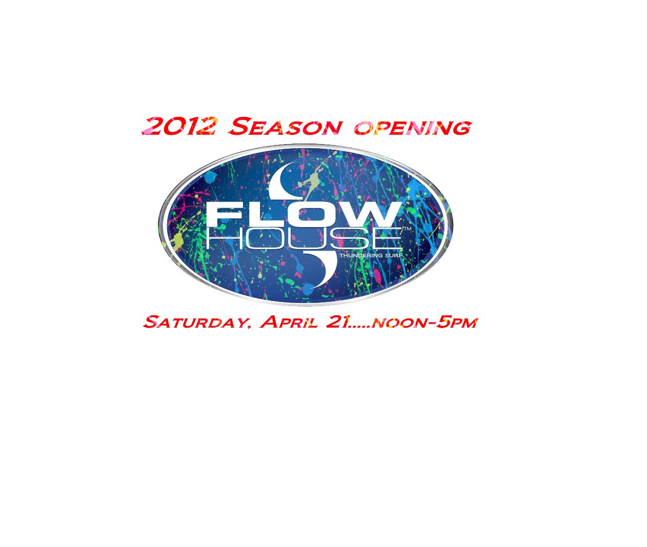 2012 Season Opener