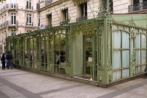 The restaurant Laduree
