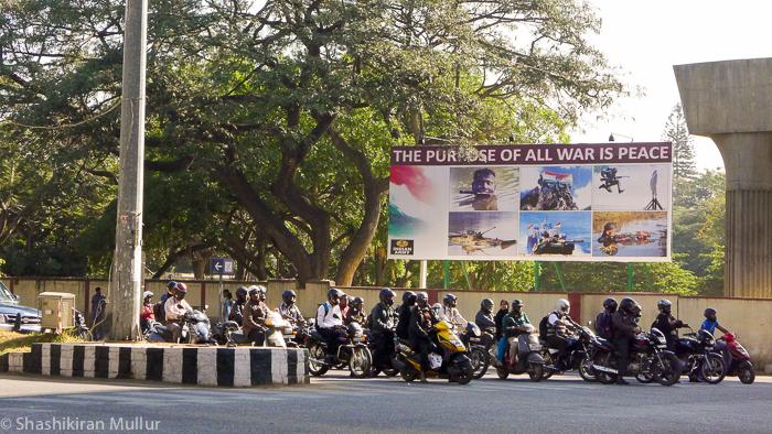 Bangalore: Where MG Road and Brigade Road meet