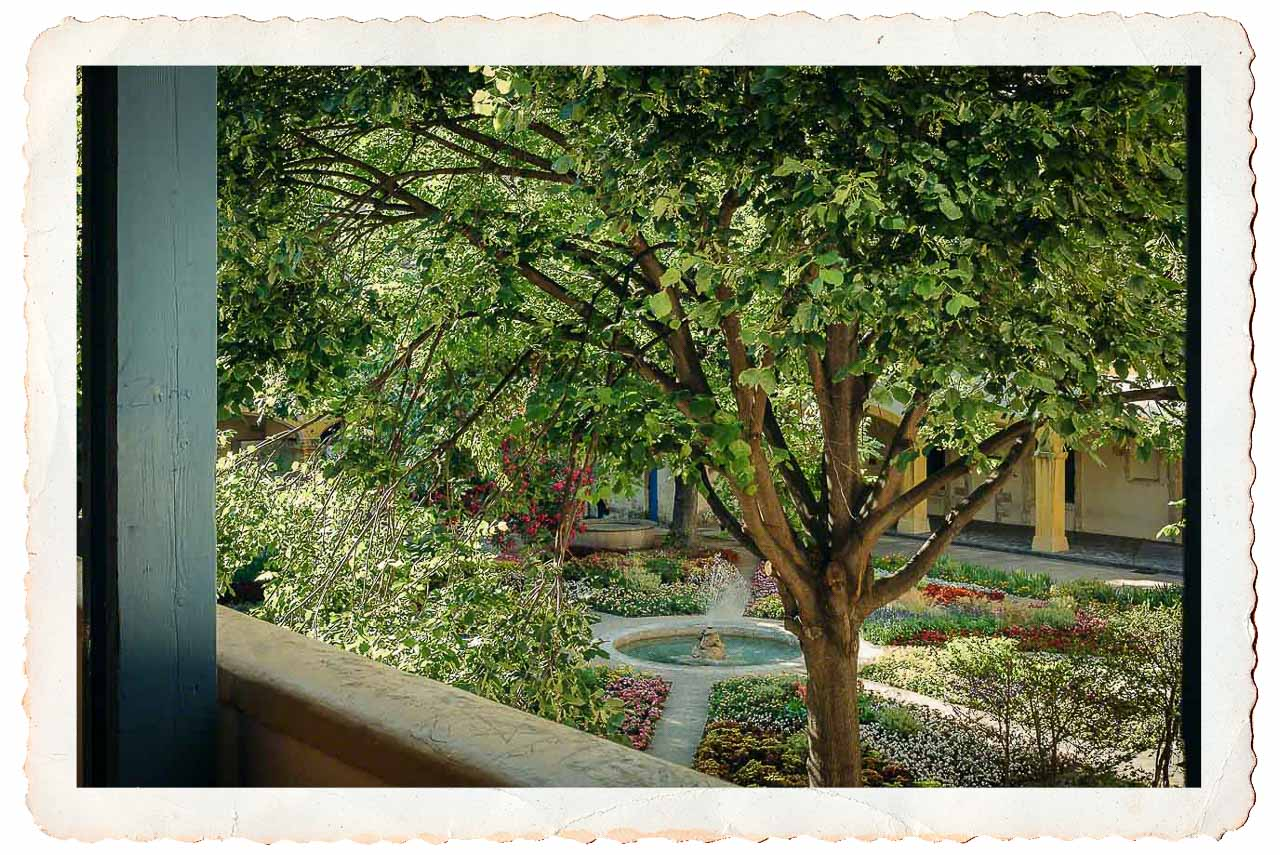 The Courtyard (my photo)…