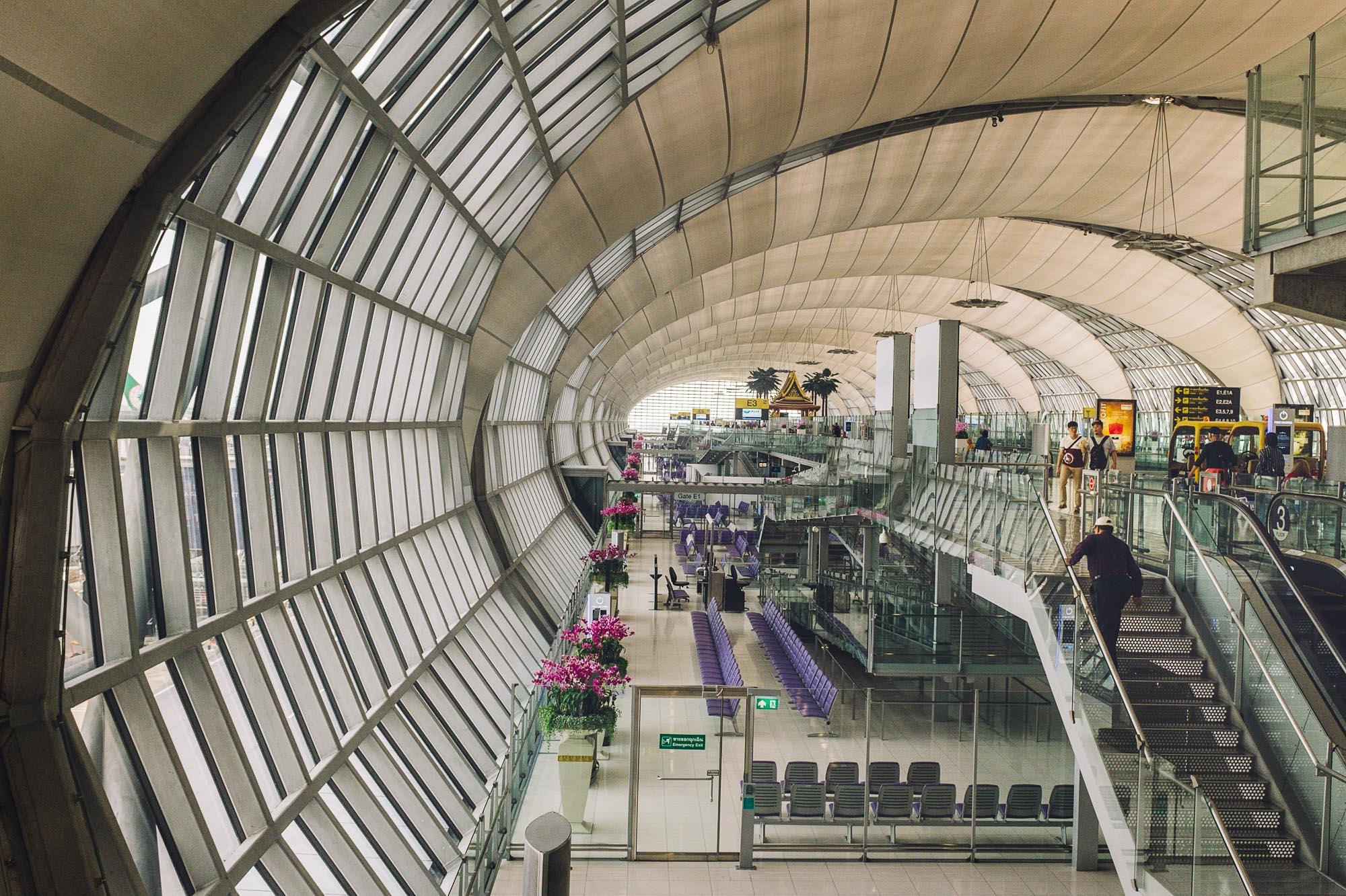 Suvarnabhoomi International Airport, Bangkok