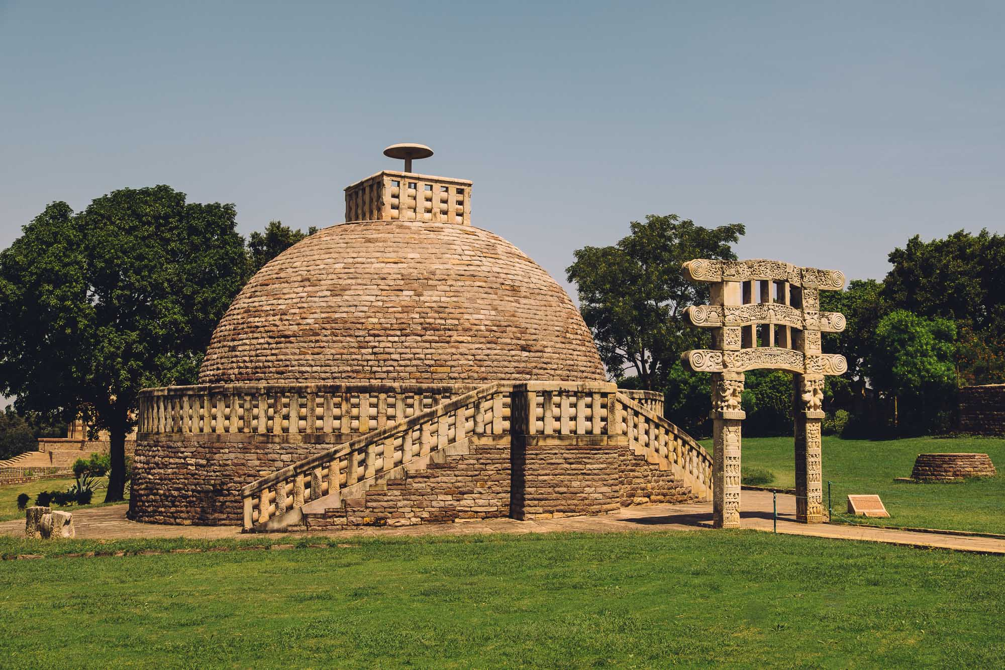 Another Stupa at Sanchi