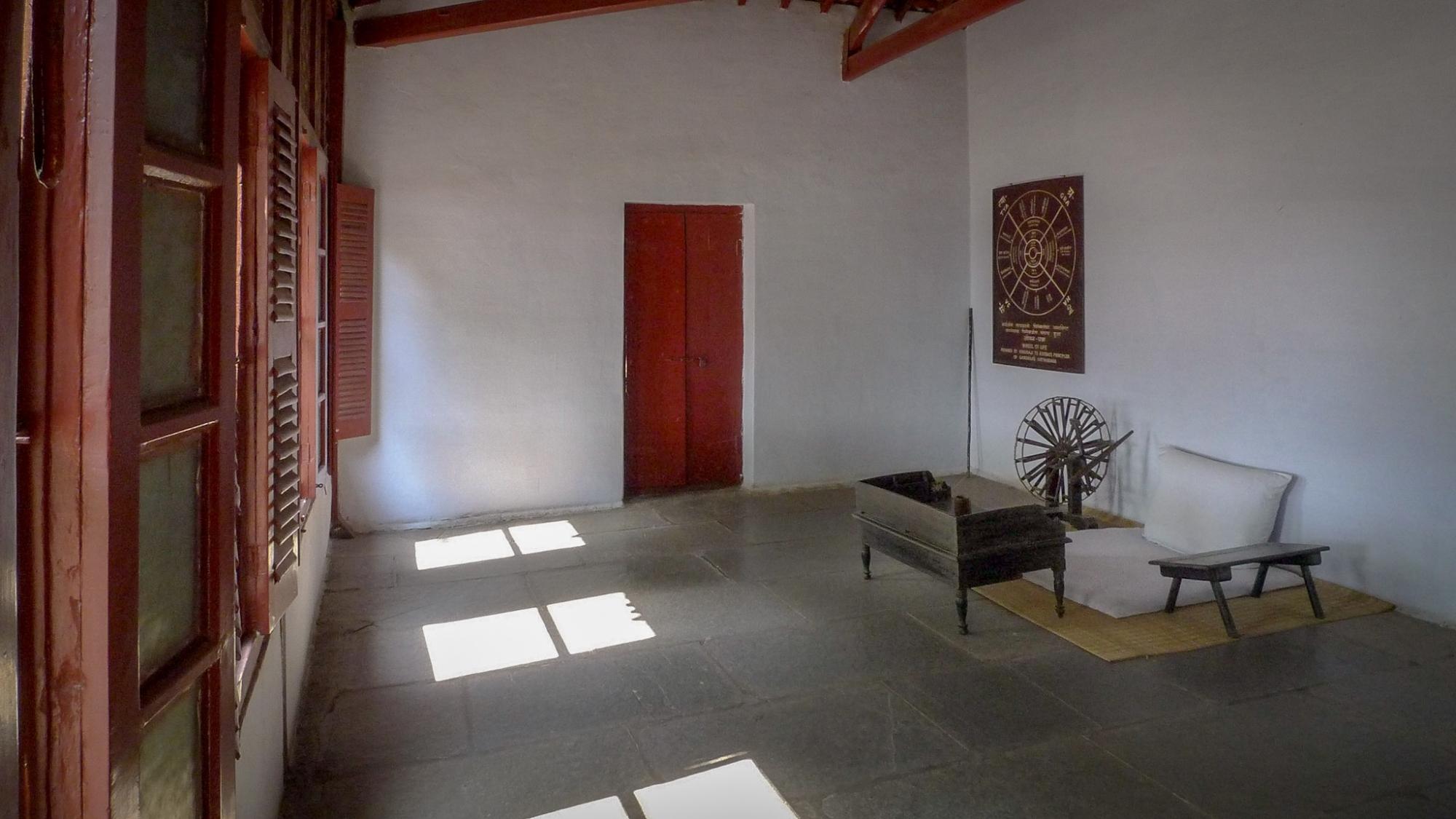 Gandhiji's Study, Sabarmati Ashram