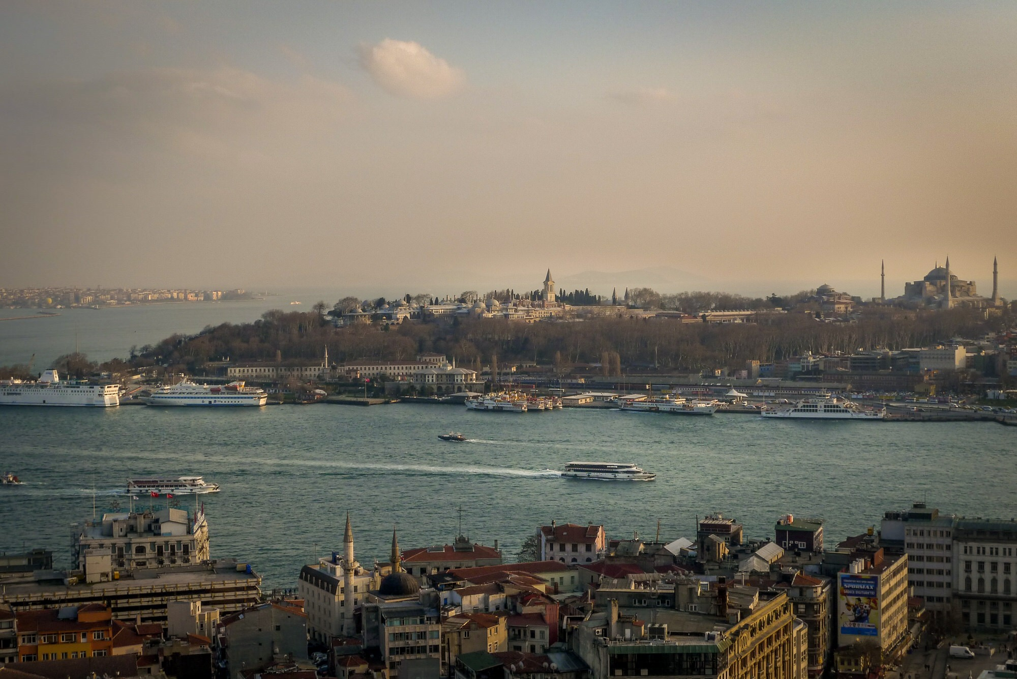 The Bosphorus, Istanbul, Turkey
