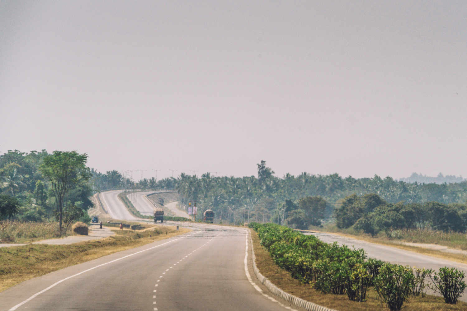 Bangalore (Bengaluru) - Hassan  Highway (NH48)