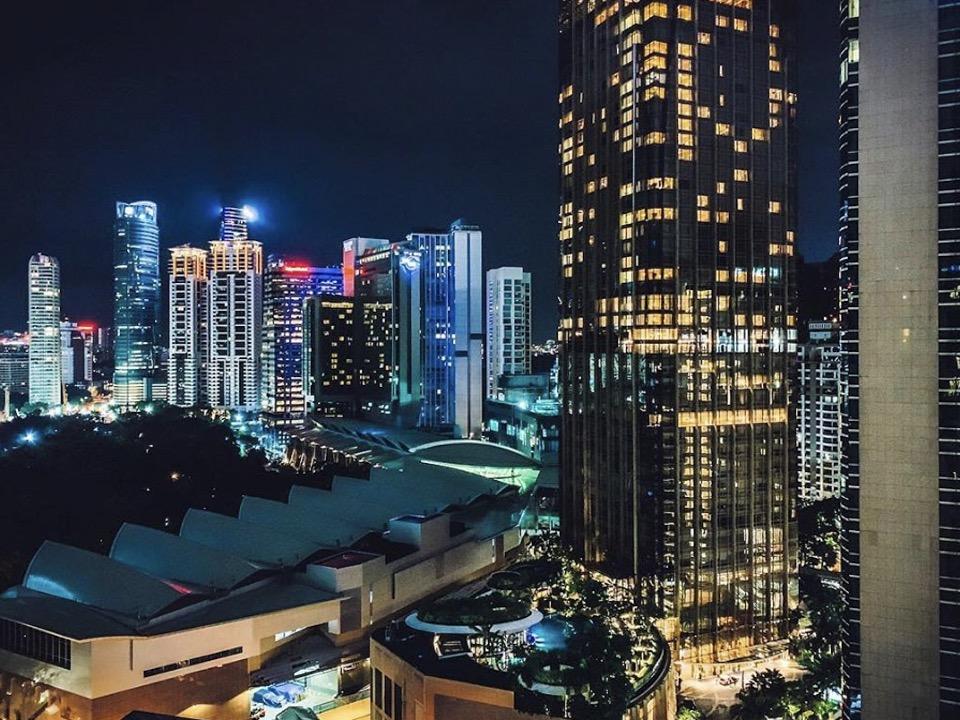 Kuala Lumpur: The view from my window