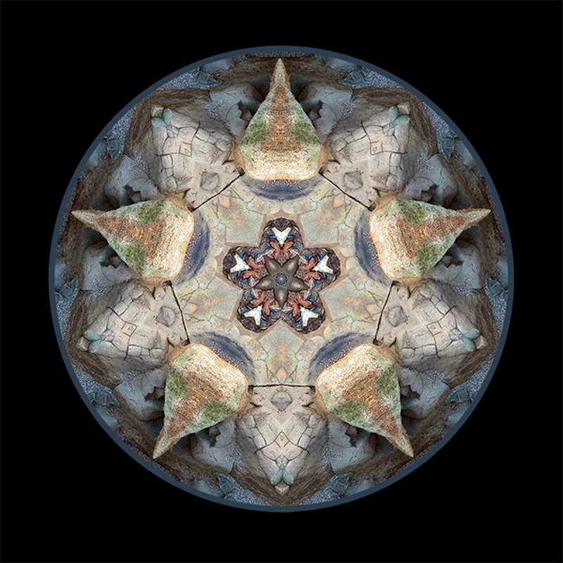 stone mandala