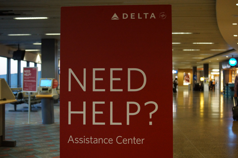 The Service Center at Delta Airlines