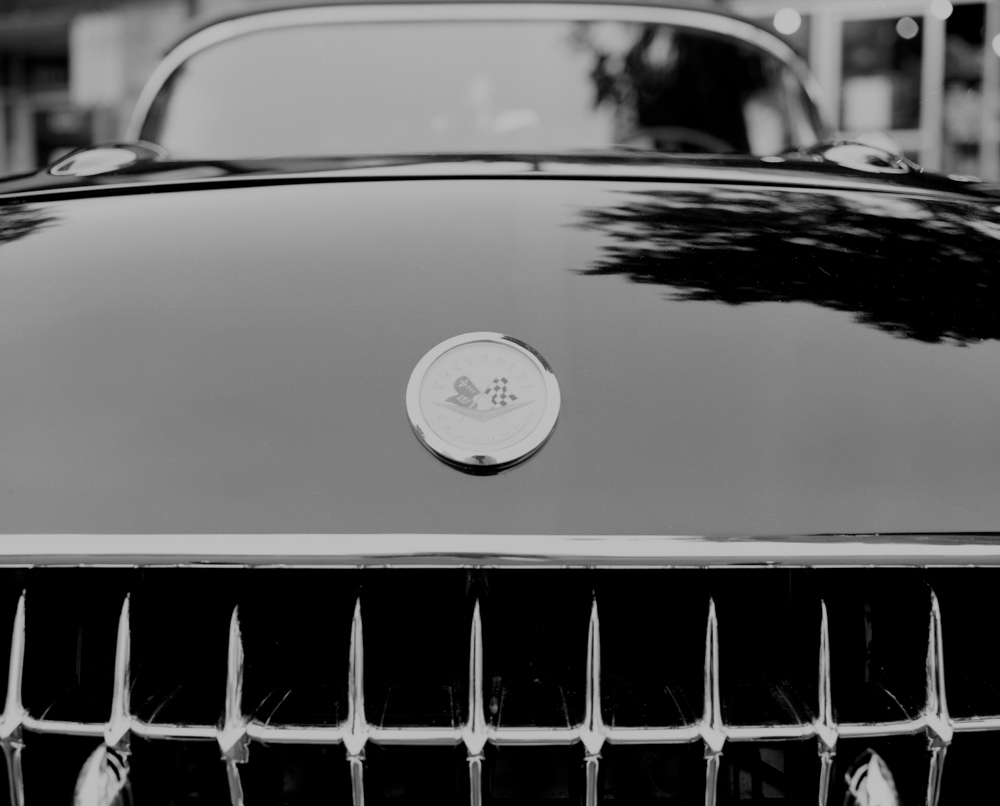 That's a mean grille. Image taken with Mamiya RB67 + Fujifilm Acros Neopan 100 and developed in Ilford Ilfosol 3.
