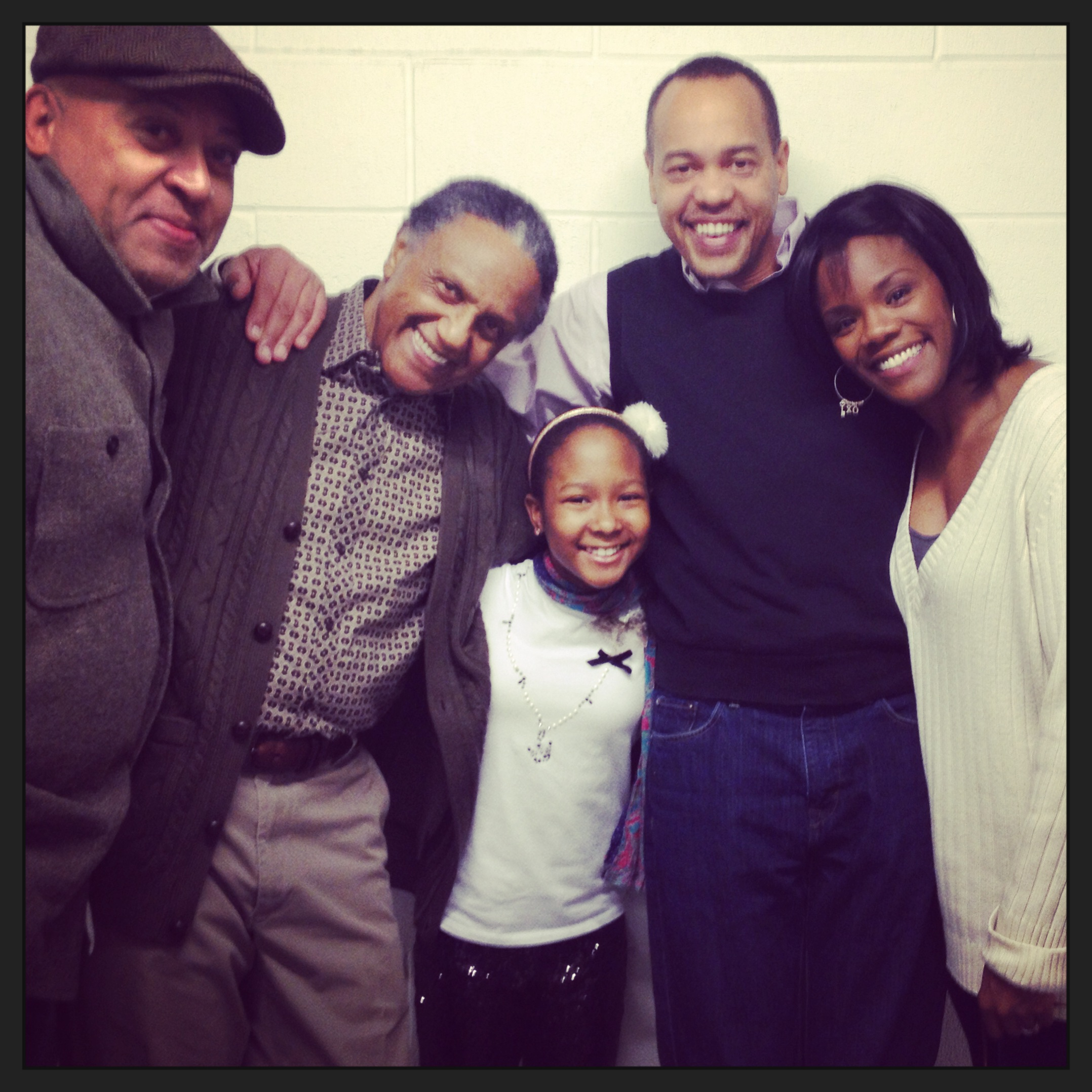 Keith R. Smith, Charles Weldon, Donshea Hopkins, Tyrone Mitchelle Henderon, & Me
