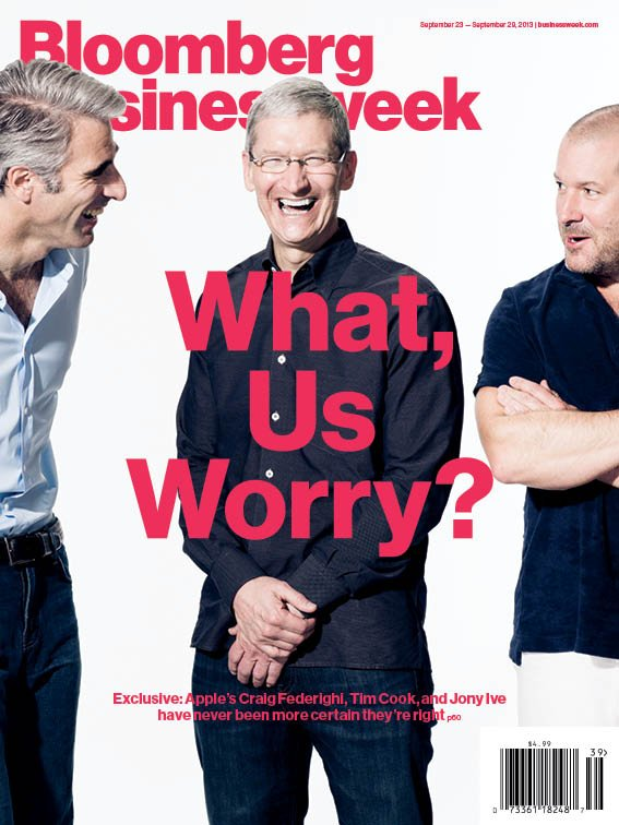 Bloomberg Business Week Apple portrait