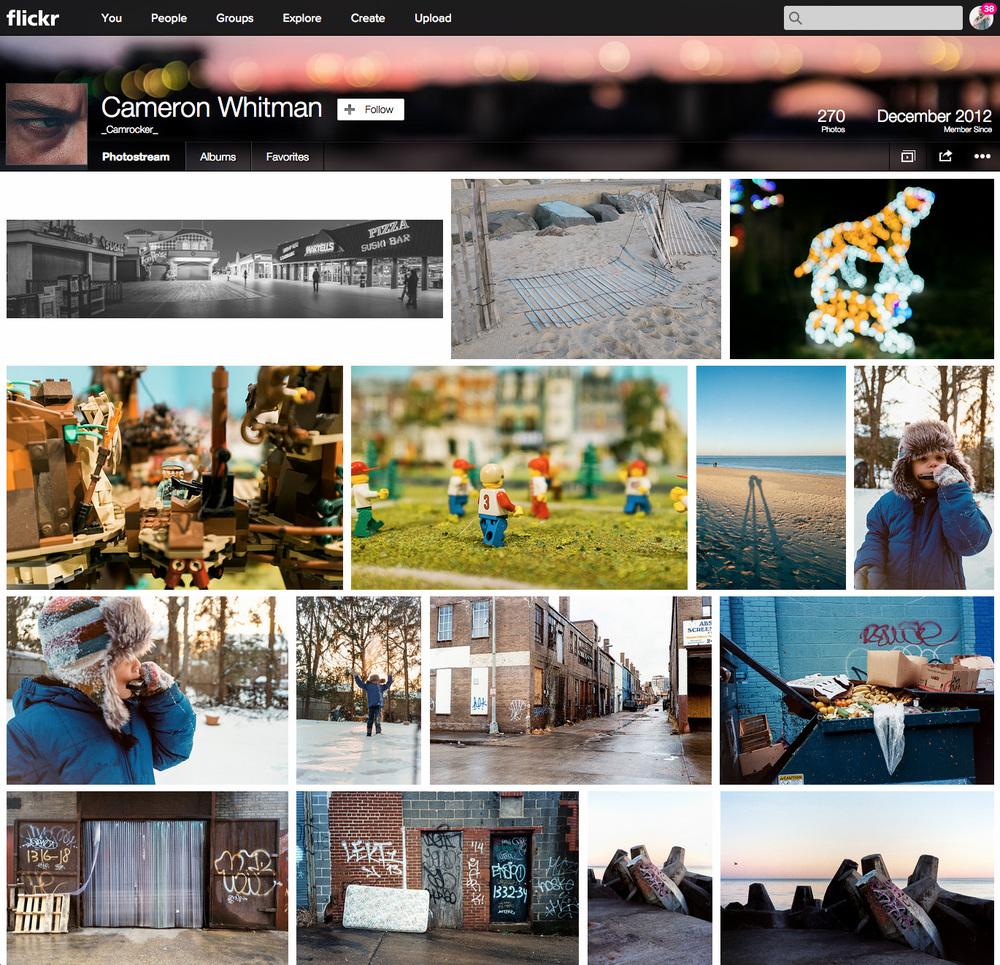 Cameron's Flickr