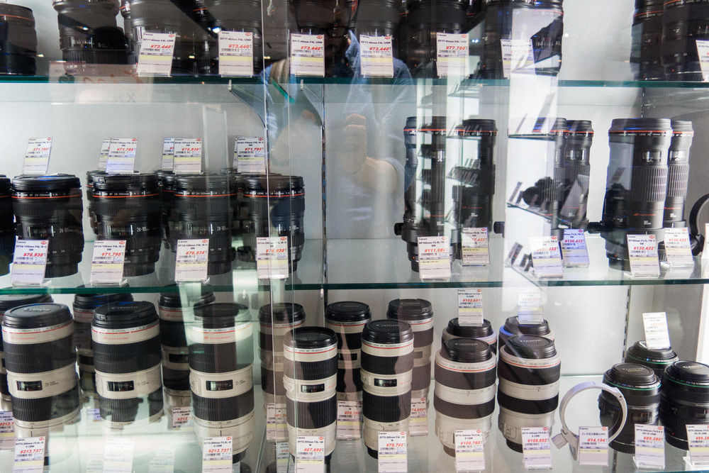Used Canon telephoto lenses