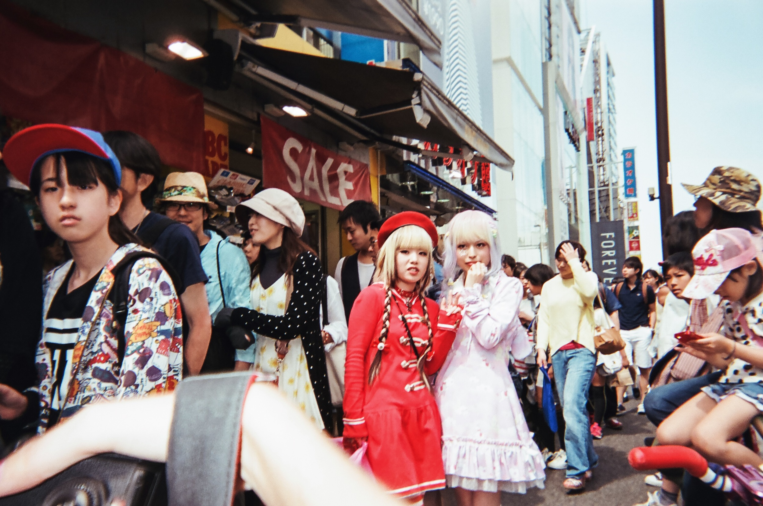 Shooting Harajuku girls
