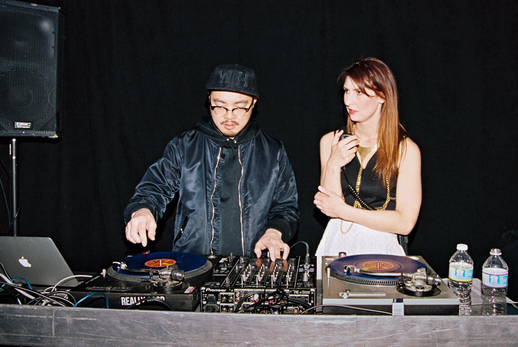 DJ Disoriental and Park founder Kara Chomistek