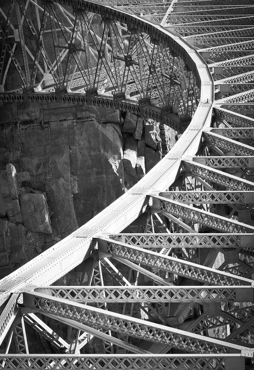 The Tipping Point - Navajo Bridge, AZ © 2013 Skip Hunt