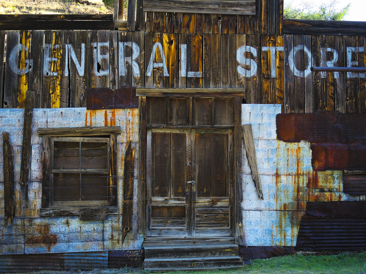 General Store - Mogollon, New Mexico © 2013 Skip Hunt