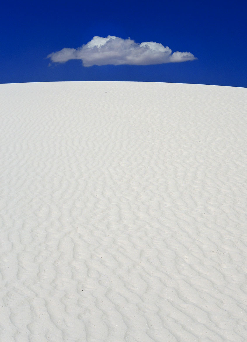 """U.F.O."" ~ White Sands, New Mexico © 2014 Skip Hunt"