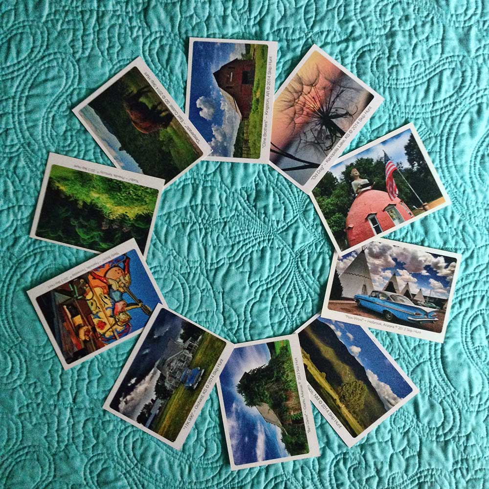 Vicarious Travel Postcards 2013-2014
