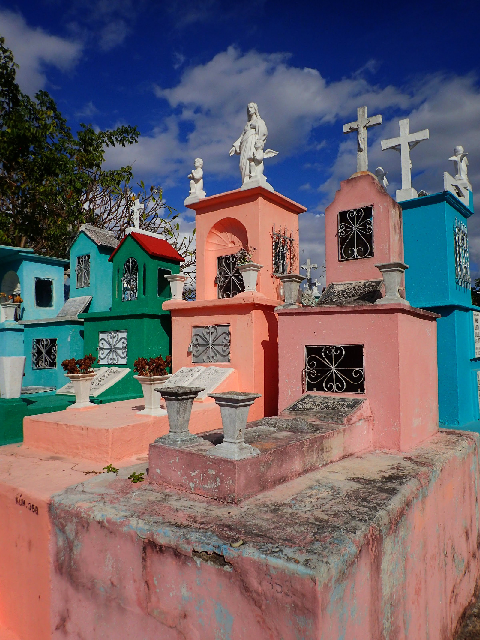 Yucatan Cemetery © 2018 Skip Hunt
