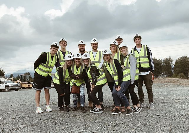Last Wednesday our staff visited the site of our future HOME! We met the construction team and saw the beginnings of forms being put in. Everything's getting way too real over here. 🙏🏻 #MOREforthiscity
