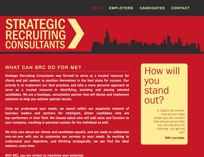 consulting service website