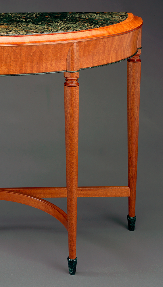 Currier table detail