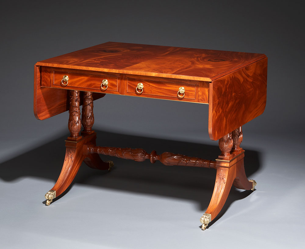 Griffith library table