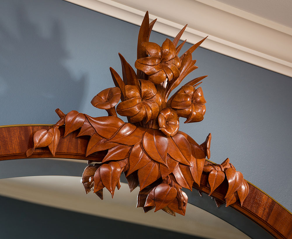 Griffith mirror carving