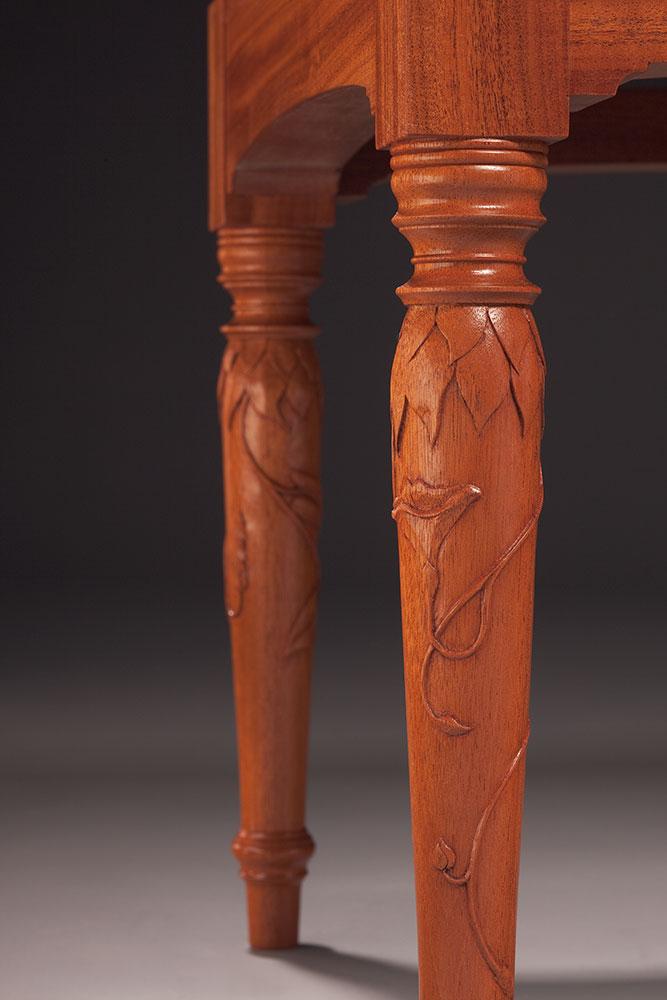 Briccetti settee detail