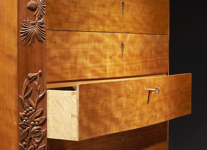 Henderson Chest with Open Drawers