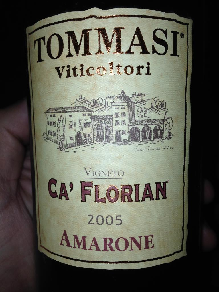 Tommasi Amarone Ca Florian 2005.JPG
