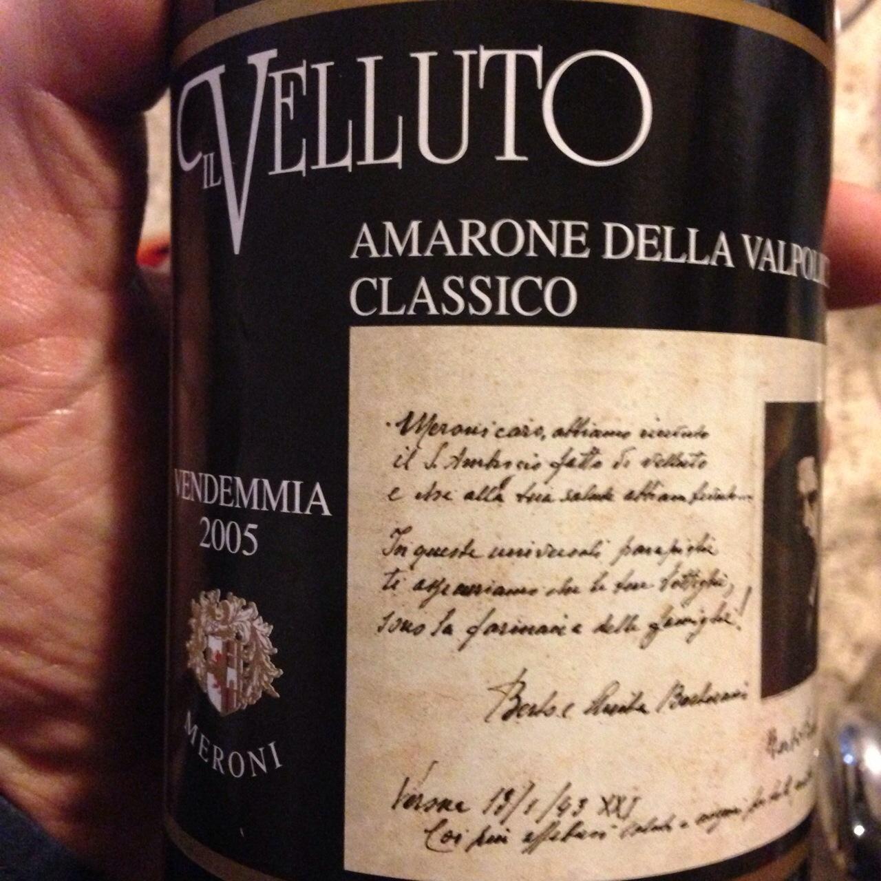 Meroni Amarone Il Velluto 2005.JPG