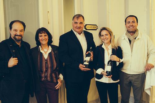 Camilla Rossi Chauvenet (Massimago) and Paolo Zardini (Tenuta Chevalier) joined the Masterclass
