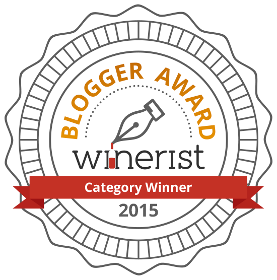 "Terroir amarone is ""category winner"" of  winerist blogger award 2015"