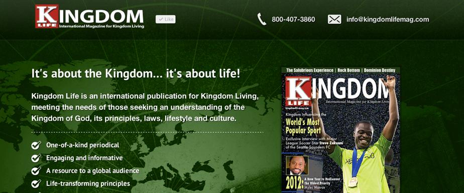 Kingdom Life Magazine