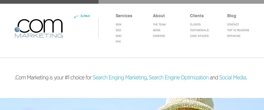 .com Marketing