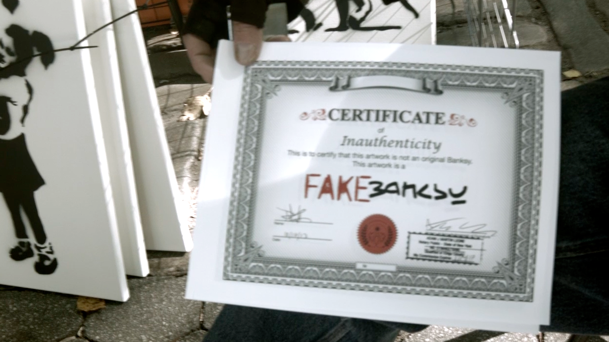 Certificate of Inauthenticity