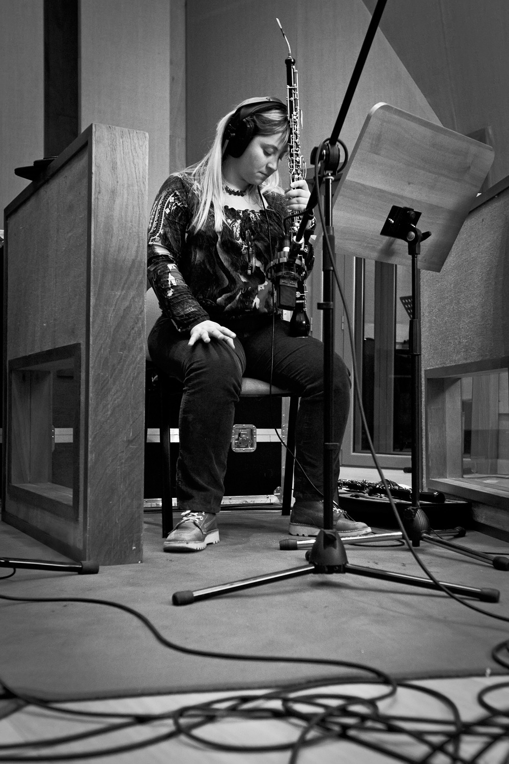 joana machado recording sessions 09042010 (5d) 048 bw.jpg