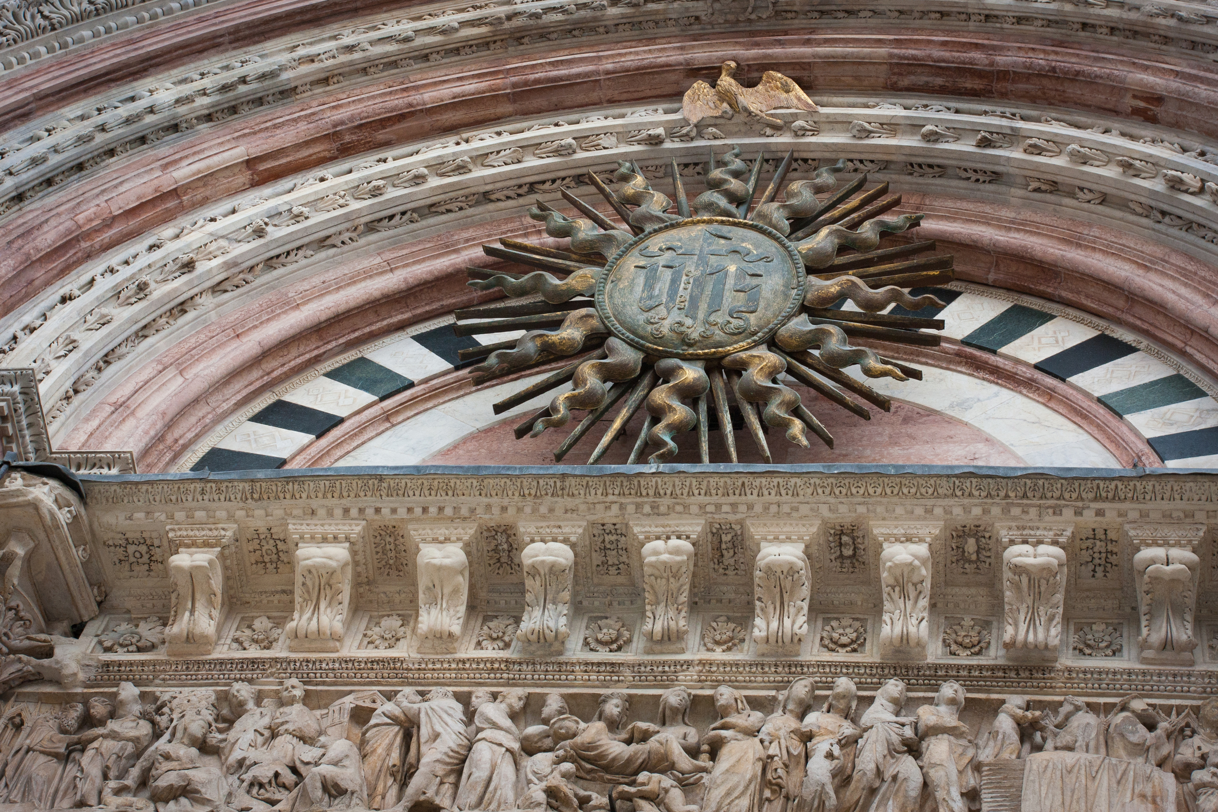Every inch of the cathedral holds spectacular detail.